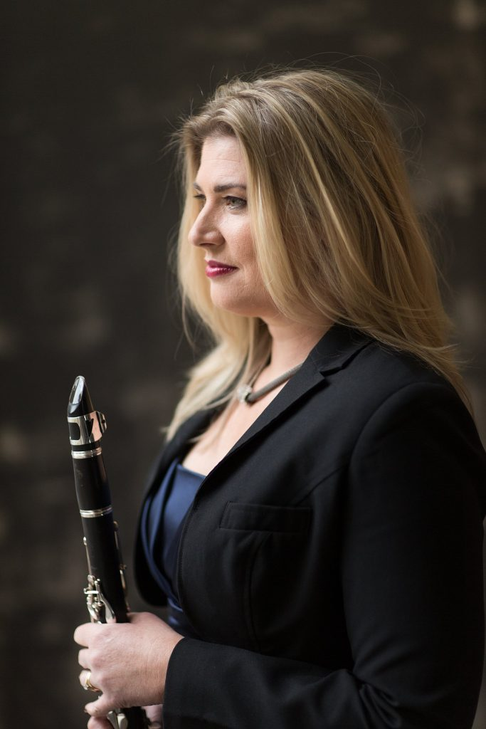 Classical Concert Clarinet Player
